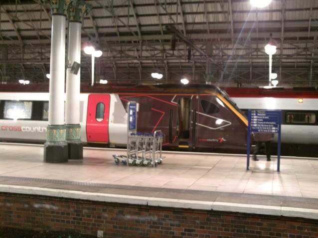 Cross Country Train at Manchester Piccadilly